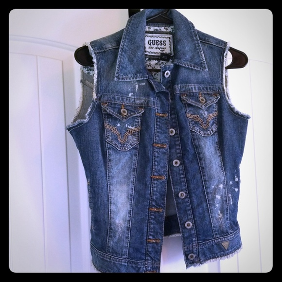 Guess Jackets & Blazers - Guess Denim Vest